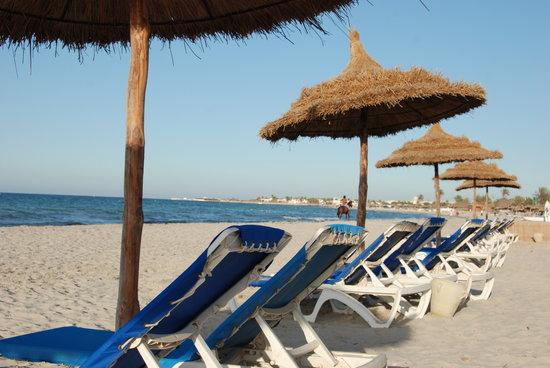 Hotel Palace Royal Garden: La plage