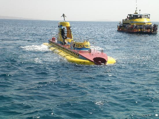 Sea World : sous-marin