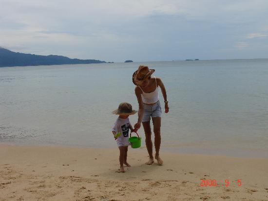 Pulau Sibu, มาเลเซีย: The Sea Gypsy beach (20min walk)