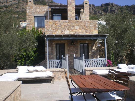 Ada Hotel : la nostra camera vista dal nostro terrazzo