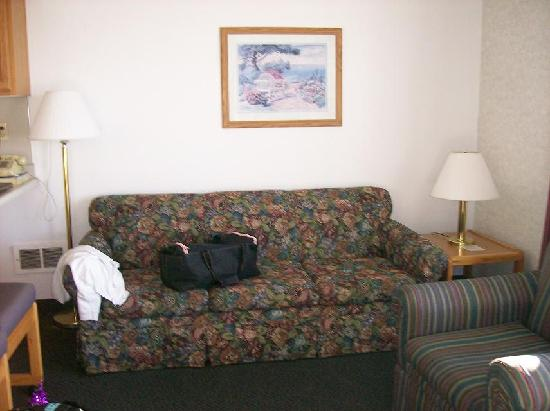 D Sands Condominium Motel: living area