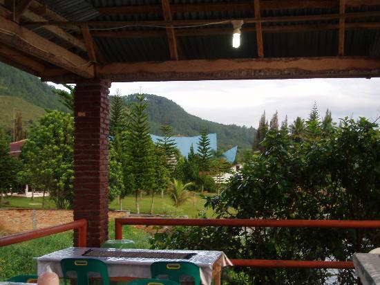 Thyesza Guesthouse: view from the veranda