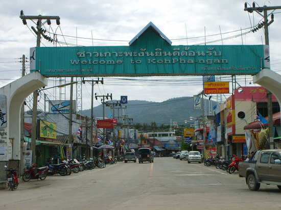 Ko Phangan, Thailand: Thongsala... welcome