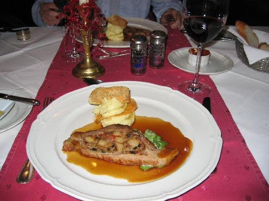 Hotel Kaiserhof: Dinner at Turmschänke