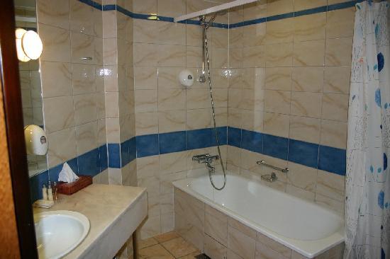 Elite Hotel Marina Plaza : Bathroom