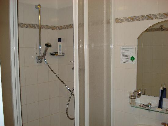 At the Old Lady (U stare pani): Bathroom and shower