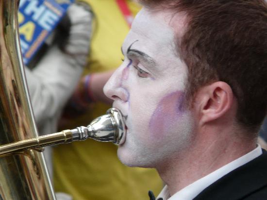 Edinburgh, UK: Detail vom Fringe-Festival
