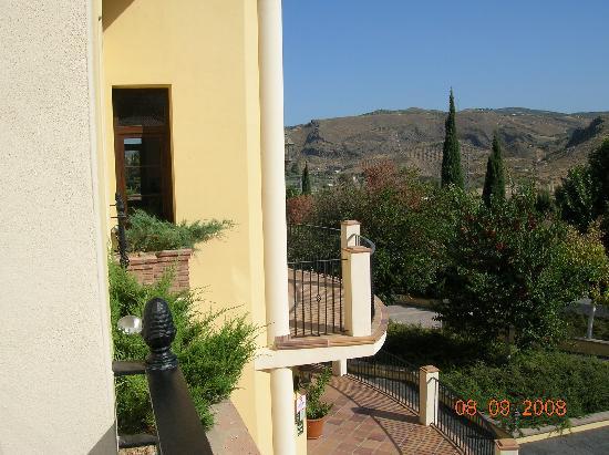 Hotel Rural Llano Pina: Vista desde la habitacion