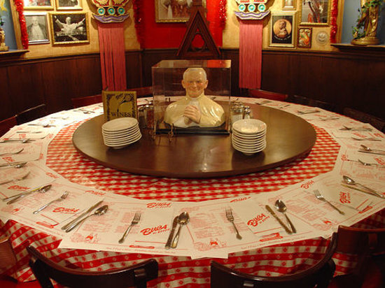 Buca Di Beppo Italian Restaurant Pope Room Hope Everyone Is Right Handed