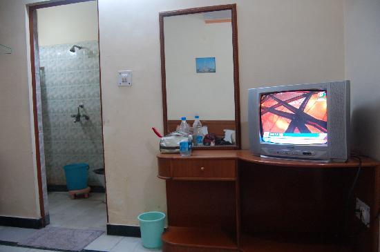 Hotel Taj Plaza: TV