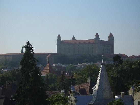 Mamaison Residence Sulekova Bratislava: view from hotel room