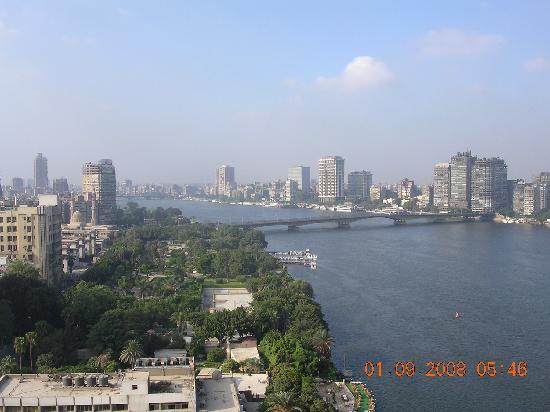 Grand Nile Tower: view from balcony