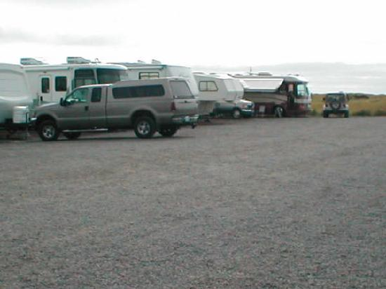 Andersen's RV Park: the entry way to the campsites