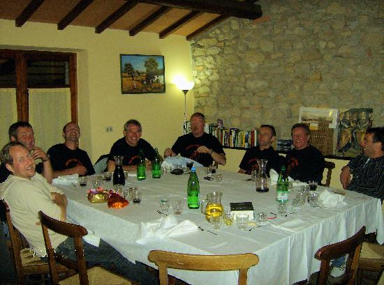Agriturismo Ca' Solare: Our Dinner