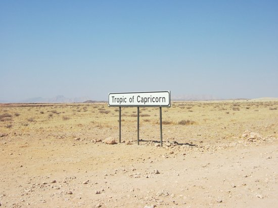 Namibia: Tropic of Capricorn