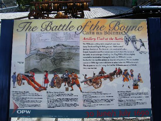 Oldbridge Estate/Battle of the Boyne Visitors Centre: Battle of the Boyne Information