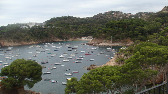 Begur, Spania: View from the balcony of the room