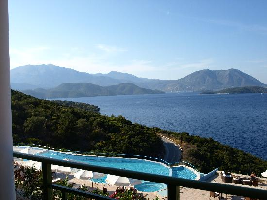 Spartochori, Greece: View from the room