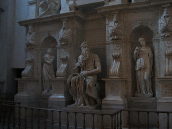 San Pietro in Vincoli: モーゼ像