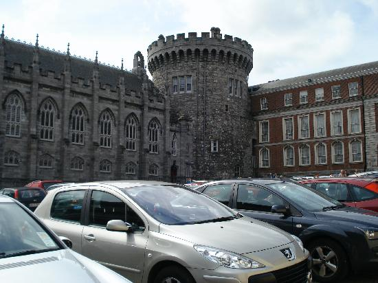 Garden of Remembrance: Outside Dublin Castle