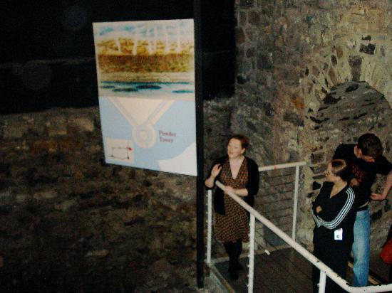 Garden of Remembrance: Excavation of Old Castle discovered in 1986 under Dublin Castle