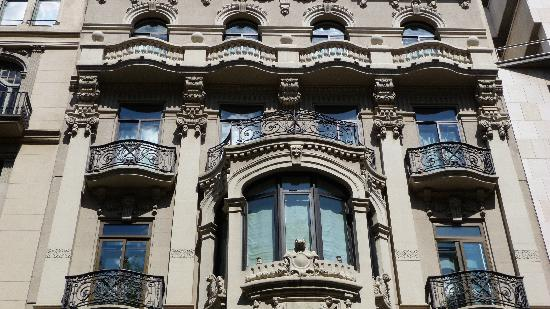 Hotel Montecarlo Barcelona: Hotel Facade