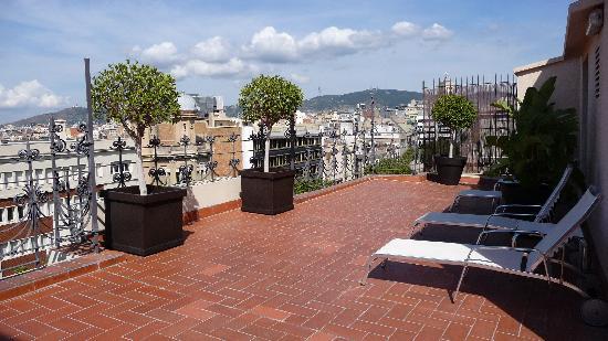 Hotel Montecarlo Barcelona: Hotel Rooftop