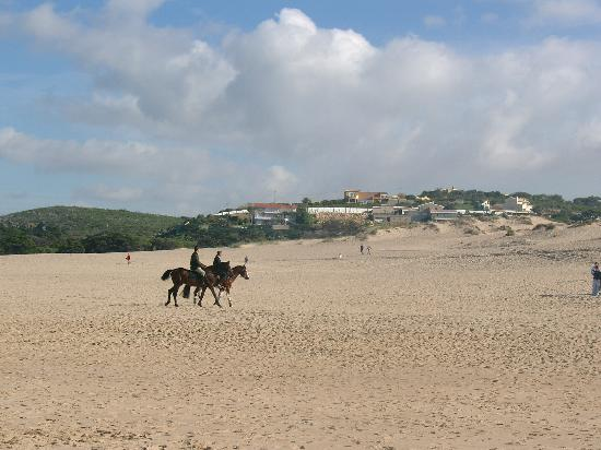 Cascais: Riding on the Guincho beach