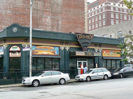 Trinity Brewhouse Providence Downtown Providence Menu