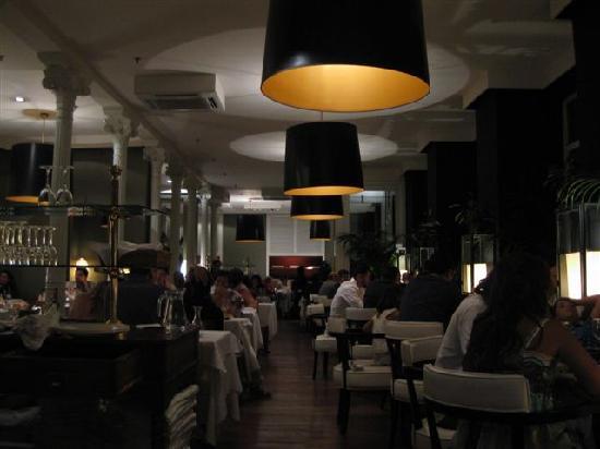 La Finca de Susana: Inside the restaurant