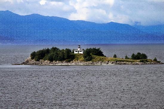 Guard Island Lighthouse - August 08