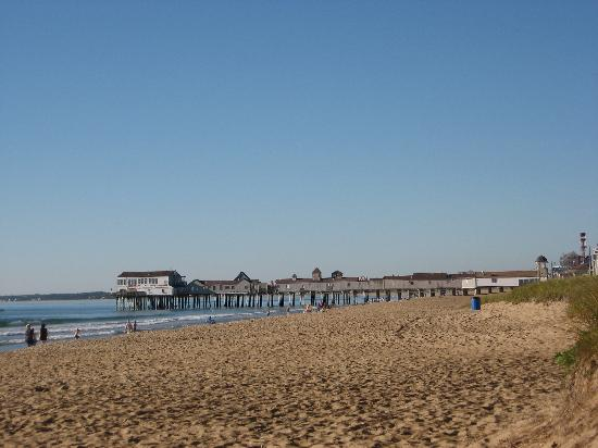 Echo Motel & Oceanfront Cottages: Vue du Pier