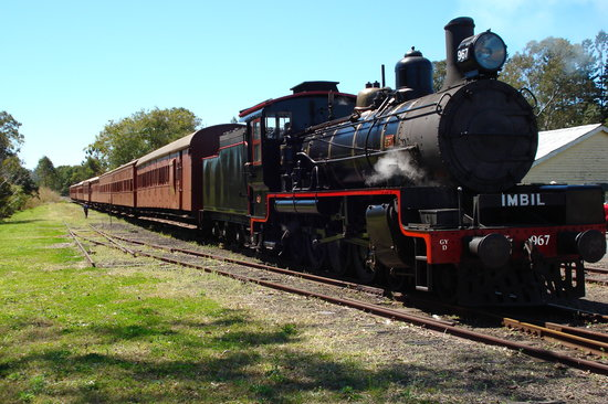 Gympie, Australia: The Grand Old Girl - the Valley Rattler