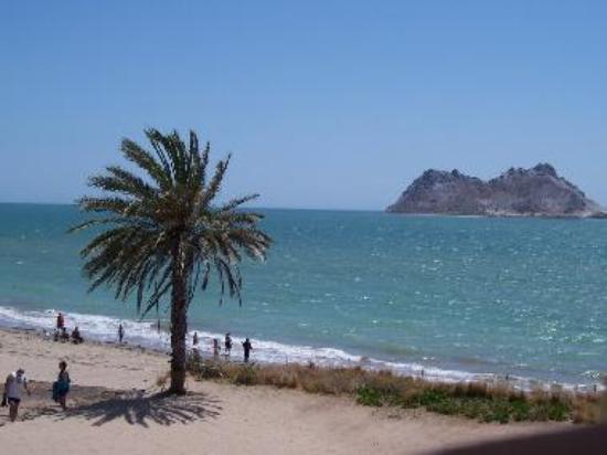 beach at kino and alcatraz island