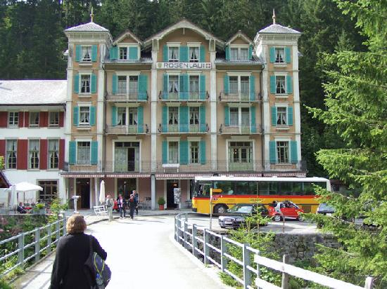 The Rosenlaui berghotel, August 2008