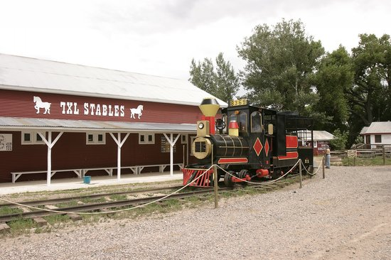 Cheyenne, WY : Terry Bison Ranch train