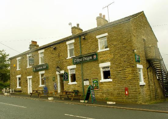 Front of the Station Inn