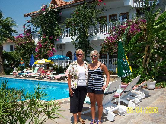 Mehtap Hotel Dalyan: My family at Mehtap