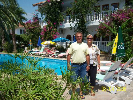Mehtap Hotel Dalyan: Me and my wife