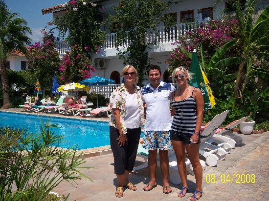 Mehtap Hotel Dalyan: Umit and my family