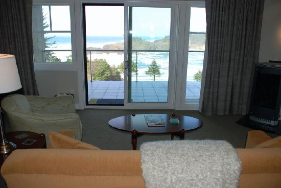 Whale Cove Inn : View from suite