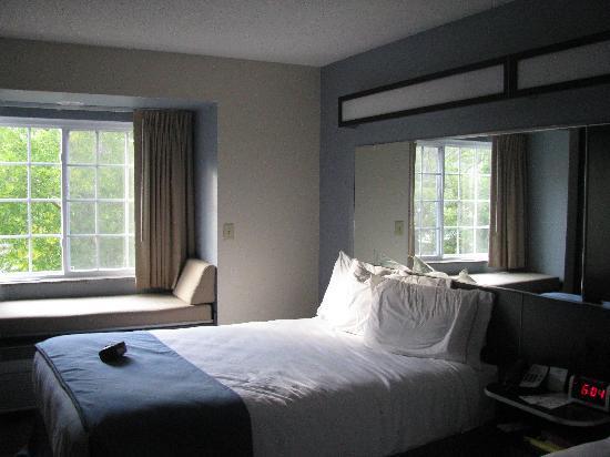 Microtel Inn & Suites by Wyndham Bath: Nice Clean Room, New in 2008