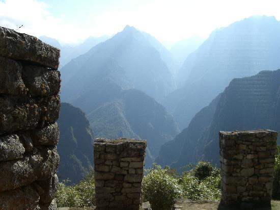 Hosteria Rumichaca: Top of Machu Picchu