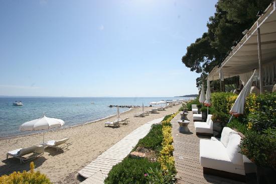 Danai Beach Resort: View from the bar