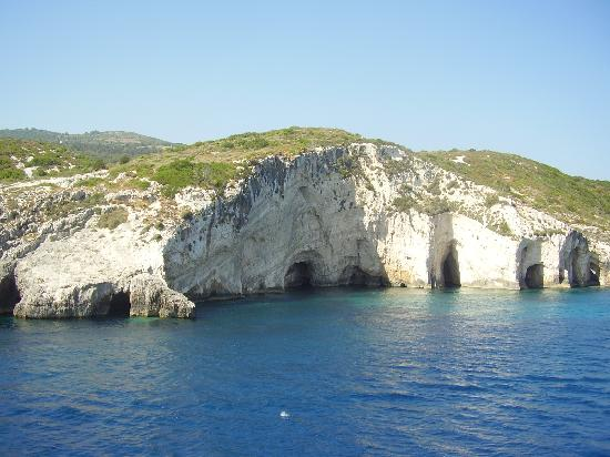 Laganas, Grekland: The Blue Caves
