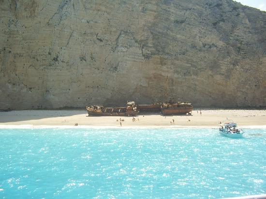 Laganas, Grekland: Shipwreck Bay