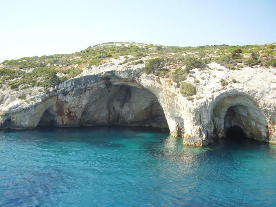 Laganas, Grekland: Blue Caves