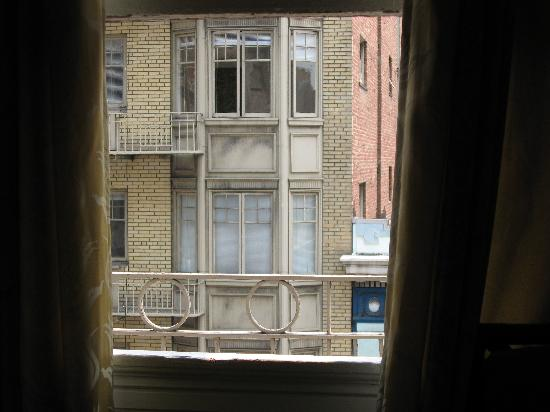 The Dakota Hotel: vue de la chambre
