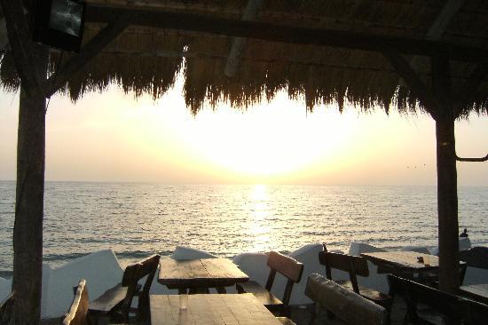 Caribbean World Djerba: Ristorante in spiaggia
