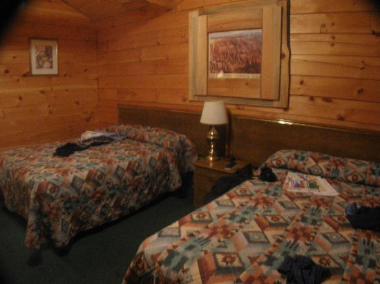 Panguitch, UT: dans la cabane